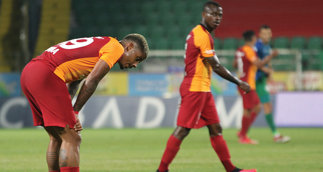 Galatasaray 10 maç sonra kaybetti