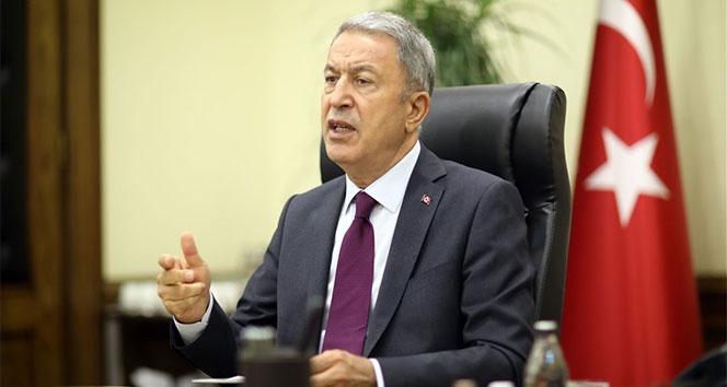 Milli Savunma Bakanı Akar'dan TSK aleyhine kullanılan ifadelere tepki