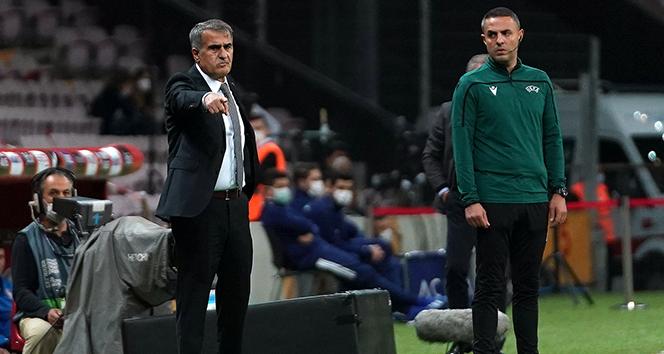 Şenol Güneş: 'Kazanmalıydık, üzgünüz'