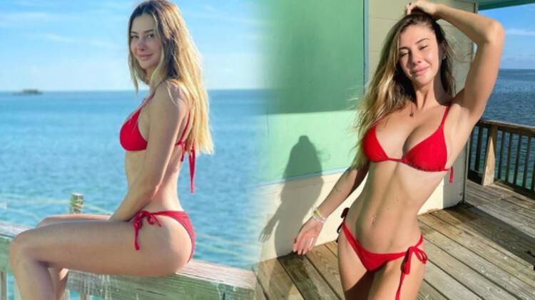 Şeyma Subaşı'nin bikinili paylaşımları dikkat çekti